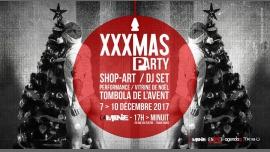 XXXMas P-Arty / La Mine / Décembre 2017 à Paris du  7 au 10 décembre 2017 (After-Work Gay)