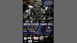 Election du Mister Leather France 2019 in Paris le Fr 28. Juni, 2019 20.00 bis 23.00 (Clubbing Gay)