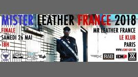 巴黎Concours National du Mister Leather France 20182018年 6月26日,18:00(男同性恋 After-Work)