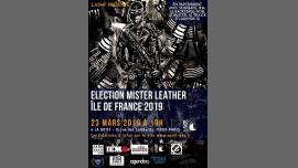 Election du Mister Leather Île de France 2019 in Paris le Sa 23. März, 2019 19.00 bis 22.00 (After-Work Gay)