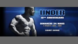 UNDER 15ème Anniversaire em Paris le dom, 24 março 2019 10:00-18:00 (After Gay)