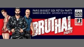 Bruthal Party à Paris le sam. 26 mai 2018 de 21h30 à 05h30 (Clubbing Gay)