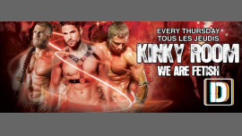 Tous les jeudis - Kinky Room em Paris le qui, 18 julho 2019 23:00-06:00 (Sexo Gay)