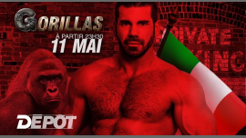 Gorillas Paris # 11 in Paris le Sat, May 11, 2019 from 11:30 pm to 07:00 am (Clubbing Gay)