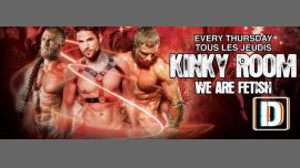 Tous les jeudis - Kinky Room à Paris le jeu. 13 juin 2019 de 23h00 à 06h00 (Sexe Gay)