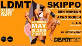 """LDMT """"Homodiskotekus"""" feat Skippo (Cologne) at Le Depot - Paris in Paris le Sa 18. Mai, 2019 23.30 bis 06.30 (Clubbing Gay)"""