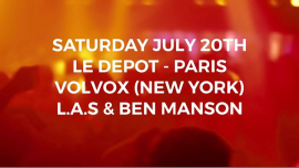 LDMT 2018 - 2019 closing feat Volvox - New York (USA) in Paris le Sat, July 20, 2019 from 11:30 pm to 06:00 am (Clubbing Gay)