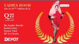 Ladies Room fête la Queer Palm le 4 mai au Depot Paris! in Paris le Sat, May  4, 2019 from 11:50 pm to 06:00 am (Clubbing Gay)
