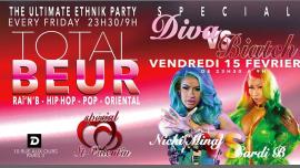 TOTAL BEUR # DIVA Vs Biatch in Paris le Fr 15. Februar, 2019 23.30 bis 09.00 (Clubbing Gay)