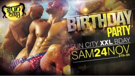 XXL SUN BDAY in Paris le Sat, November 24, 2018 from 09:00 pm to 03:00 am (Sex Gay)