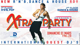 XTRA PARTY à Paris le dim. 31 mars 2019 de 19h00 à 02h00 (Clubbing Gay)