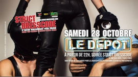 Soirée Strict Dress Code à Paris le sam. 28 octobre 2017 à 22h00 (Clubbing Gay)