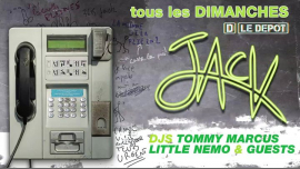 Jack - Tous les dimanches ! in Paris le Sun, January 13, 2019 from 10:00 pm to 06:00 am (Clubbing Gay)