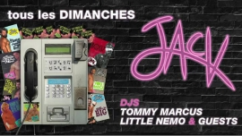 JACK - Tous les dimanches ! à Paris le dim. 25 novembre 2018 de 22h00 à 06h00 (Clubbing Gay)