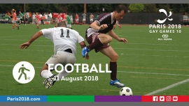Gay Games 10 - Football à Paris du  5 au 11 août 2018 (Sport Gay, Lesbienne)