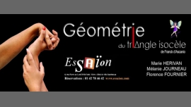 Géométrie du Triangle Isocèle in Paris le Fri, September 16, 2016 from 09:30 pm to 11:00 pm (Theater Gay Friendly, Lesbian Friendly)