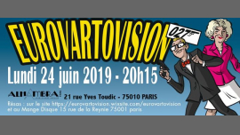 Eurovartovision in Paris le Mon, June 24, 2019 from 08:00 pm to 12:00 am (Show Gay, Lesbian)