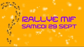 Rallye pédestre MIF de Paris in Paris le Sat, September 29, 2018 from 12:00 pm to 11:30 pm (Meetings / Discussions Gay)