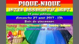 Pique Nique Inter Associatif LGBT à Paris le dim. 27 août 2017 de 13h00 à 20h00 (Pique-Nique Gay)