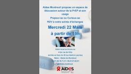 Soirée d'échanges PrEP et prévention diversifiée à Paris le mer. 22 mars 2017 de 19h00 à 22h00 (Prévention santé Gay, Lesbienne, Hétéro Friendly)