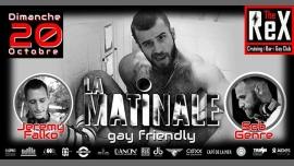 蒙彼利埃After ''La Matinale'' // Falko & Genre2019年 6月20日,06:00(男同性恋 晚会结束后的活动)