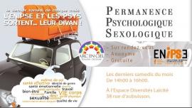 Permanence d'accueil Psychologique / Sexologique a Tolosa le sab 27 aprile 2019 14:00-16:00 (Incontri / Dibatti Gay, Lesbica, Orso)