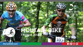 Gay Games 10 - Mountain Bike à Versailles le mar.  7 août 2018 de 09h00 à 18h00 (Sport Gay, Lesbienne)
