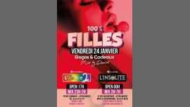 Angers (49) | Soirée 100% Filles à L'Entre 2 et à L'Insolite ! en Angers le vie 24 de enero de 2020 17:00-07:00 (After-Work Lesbiana Friendly)