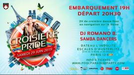 Croisière Pride Paris 2019 em Paris le sáb, 29 junho 2019 19:00-22:30 (Cruzeiro Gay, Lesbica)
