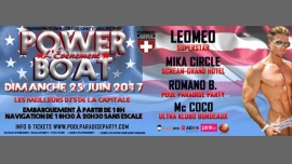 巴黎POWER BOAT l'évènement Paris2017年 6月25日,18:00(男同性恋, 女同性恋 俱乐部/夜总会)