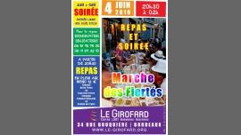 ♬♪ Repas & soirée Marche des fiertés ♬♪ in Bordeaux le Sat, June  4, 2016 at 08:30 pm (Before Gay, Lesbian, Trans, Bi)