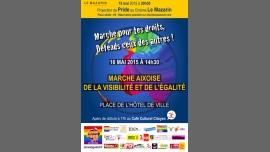 Marche Aixoise ed la Visibilité et de l'Egalité à Aix-en-Provence le sam. 21 mai 2016 à 14h30 (Parades / Défilés Gay, Lesbienne)