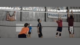 Entrainement de volley des FRM à Marseille le lundi  8 février 2016 à 19h20 (Sport Gay, Lesbienne)