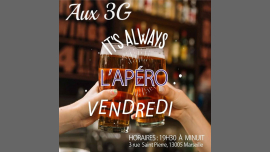 L'apéro DES 3G in Marseilles le Fri, August  2, 2019 from 08:00 pm to 12:00 am (After-Work Lesbian)
