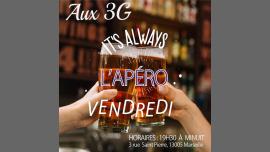 L'apéro DES 3G à Marseille le ven. 24 mai 2019 de 20h00 à 00h00 (After-Work Lesbienne)