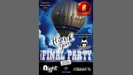 The Final Party in Cannes le Sat, September  3, 2016 from 09:30 pm to 05:00 am (Clubbing Gay Friendly)