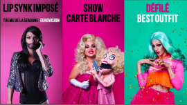 Drag Me Up - Eurovision Tour in Paris le Sun, May 12, 2019 from 08:00 pm to 02:00 am (After-Work Gay)