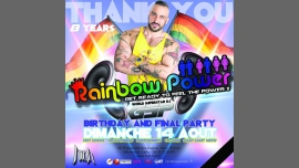 Rainbow Power 8 Years with the World Superstar dj GSP in Nice le Sun, August 14, 2016 at 11:55 pm (Clubbing Gay, Lesbian)