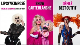 Drag Me Up in Paris le Sun, November 11, 2018 from 08:00 pm to 02:00 am (After-Work Gay)