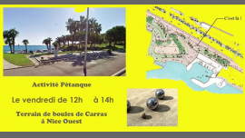 Activité Pétanque en Niza le vie 28 de junio de 2019 12:00-14:00 (Deportes Lesbiana)
