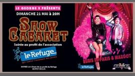 Show cabaret au profit du Refuge à Grenoble le dim. 21 mai 2017 de 20h00 à 02h00 (Clubbing Gay, Lesbienne, Hétéro Friendly)
