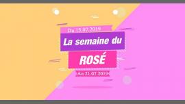 La Semaine du Rosé à Lyon du 15 au 21 juillet 2019 (After-Work Gay)