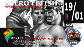 Apéro-Fetish 19/01/19 Centre LGBTI Lyon FL69 in Lyon le Sat, January 19, 2019 from 07:00 pm to 11:30 pm (After-Work Gay)