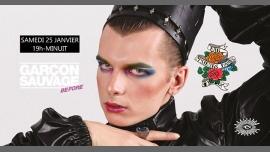 巴黎Before Garçon Sauvage2020年 7月25日,19:00(男同性恋 下班后的活动)