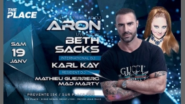 DJ ARON & BETH SACKS AT The Place in Lyon le Sat, January 19, 2019 from 11:00 pm to 06:00 am (Clubbing Gay, Lesbian)