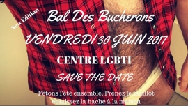 Bal des Bucherons in Lyon le Fri, June 30, 2017 from 10:00 pm to 01:00 am (After-Work Gay, Lesbian)