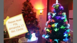 Repas De Noël du FGL in Lyon le Sun, December 17, 2017 from 12:00 pm to 03:30 pm (Meetings / Discussions Gay, Lesbian)