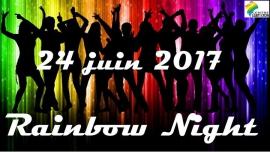 Rainbow Night : Soirée Officielle in Lyon le Sa 24. Juni, 2017 21.00 bis 01.00 (After-Work Gay, Lesbierin)