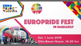 EuroPride Fest - Andersrum ist nicht verkehrt in Mariahilf 2019 em Viena le sáb,  1 junho 2019 14:00-20:00 (Festival Gay, Lesbica, Trans, Bi)