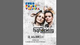 EuroPride 2019: Concert highdentity à Vienne le ven. 14 juin 2019 de 17h45 à 18h45 (Concert Gay, Lesbienne, Trans, Bi)